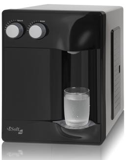 Purificador de Água Soft Plus Preto - 110v   - Pensou Filtros