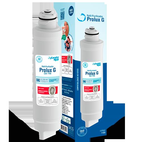Filtro Refil Prolux G para Purificador de Água Electrolux PE11B, PE11X, PA21G, PA26G e PA31G  - Pensou Filtros