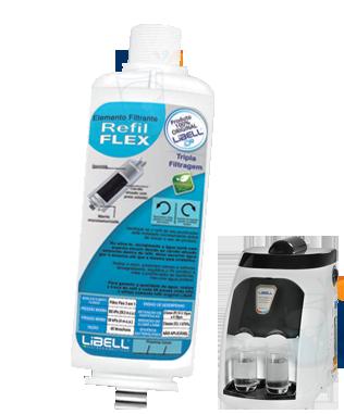 Filtro Purificador Acqua Flex Libell - ORIGINAL  - Pensou Filtros