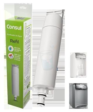 Filtro Refil CIX01AX para Purificador de Água Consul - CPC30, CPB35 e CPB36  - Pensou Filtros
