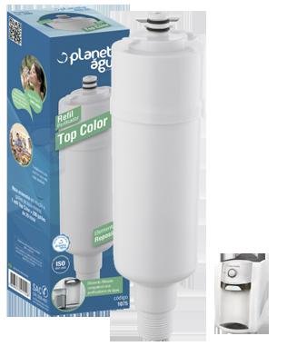 Refil Top Color para Purificador de Água Colormaq - similar  - Pensou Filtros