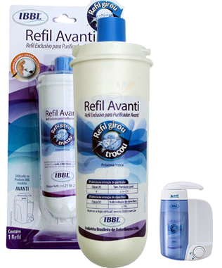 Purificador Avanti IBBL + Refil Extra  - Pensou Filtros