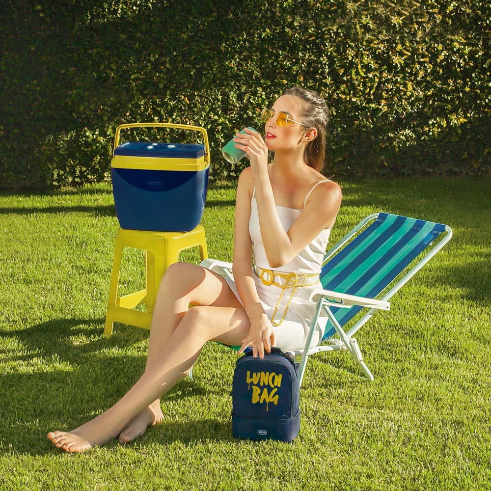 Cadeira Praia Reclinável 4 Posições Aço Mor Capacidade 100kg  - Pensou Filtros