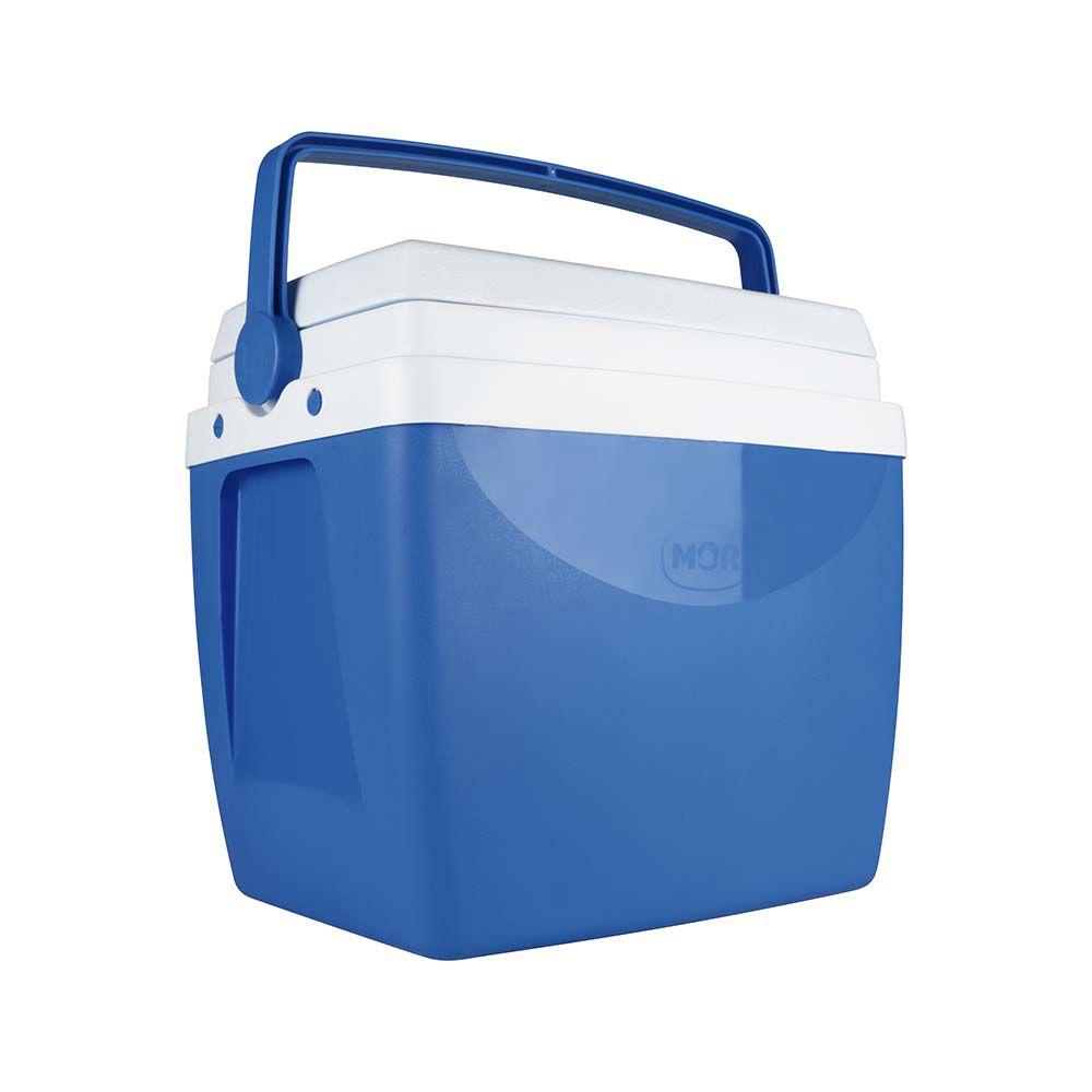 Caixa Térmica Cooler 26L  - Azul  - Pensou Filtros