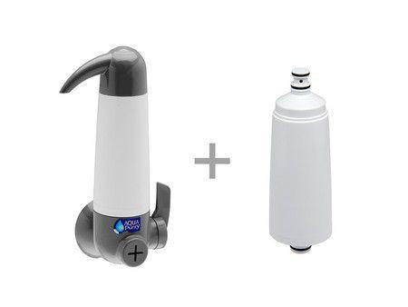 CNOVA-5165552- Purificador Aquapurity Aqualar 3M - prata + refil extra  - Pensou Filtros