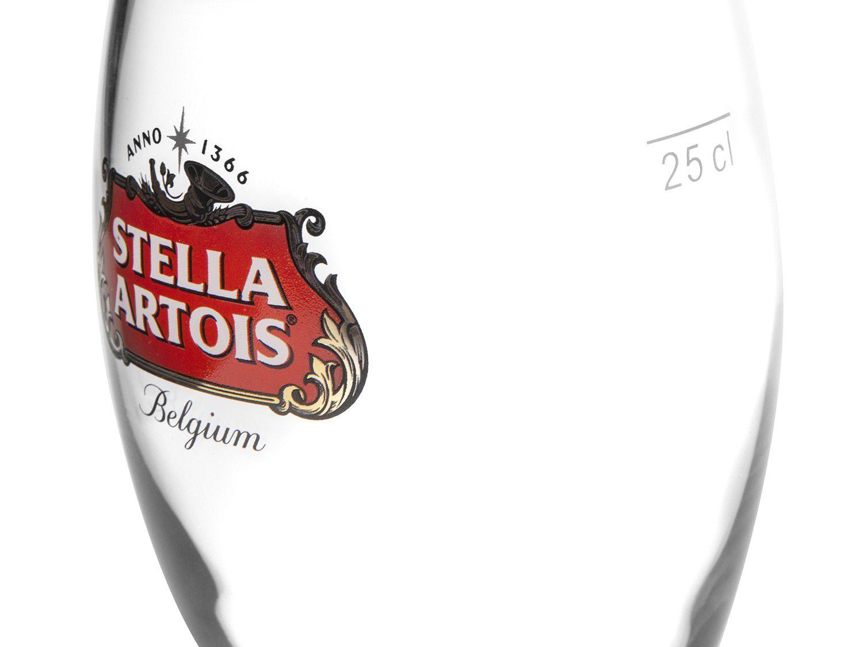 Copo Cálice de Cerveja Stella Artois 250ml Belga Vidro   - Pensou Filtros