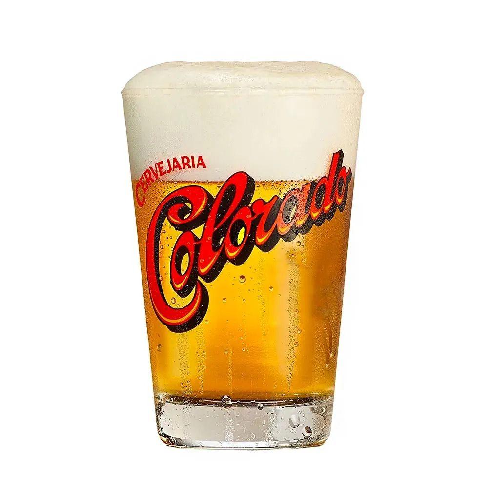 Copo de Cerveja Colorado 350ml - Vidro  - Pensou Filtros