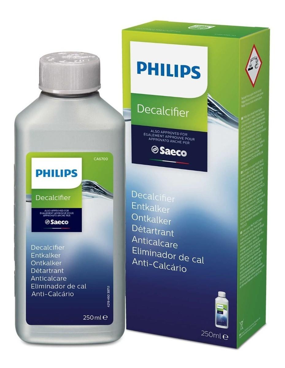 Descalcificante Líquido 250ml Saeco Philips   - Pensou Filtros