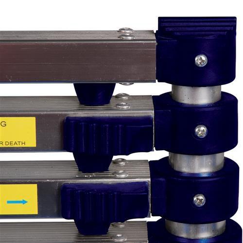 Escada Telescópica de alumínio com 10 degraus - MOR  - Pensou Filtros
