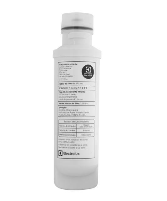 Filtro Refil para Purificadores Electrolux PA - PA10N, PA20G, PA25G, PA30G, PA40G - ORIGINAL  - Pensou Filtros