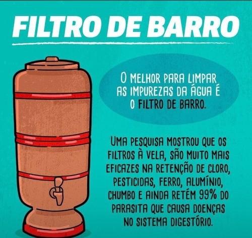 FILTROS DE BARRO - MANTER INATIVO  - Pensou Filtros
