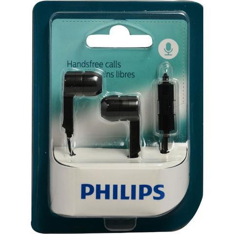 Fone de Ouvido Philips - SHE1405BK/10 - Preto  - Pensou Filtros