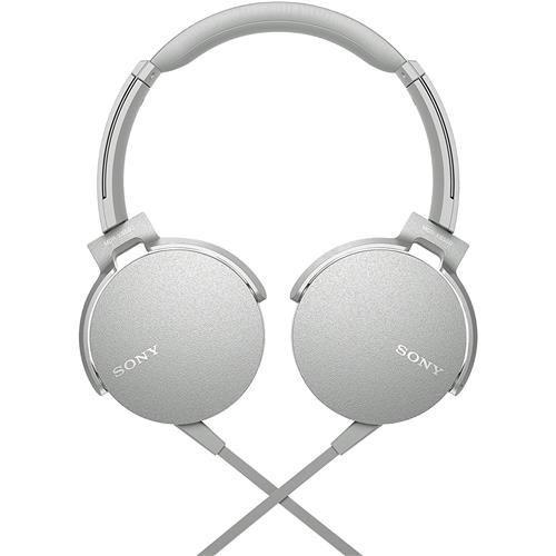 Fone de Ouvido Sony - MDR-XB550AP - BRANCO   - Pensou Filtros