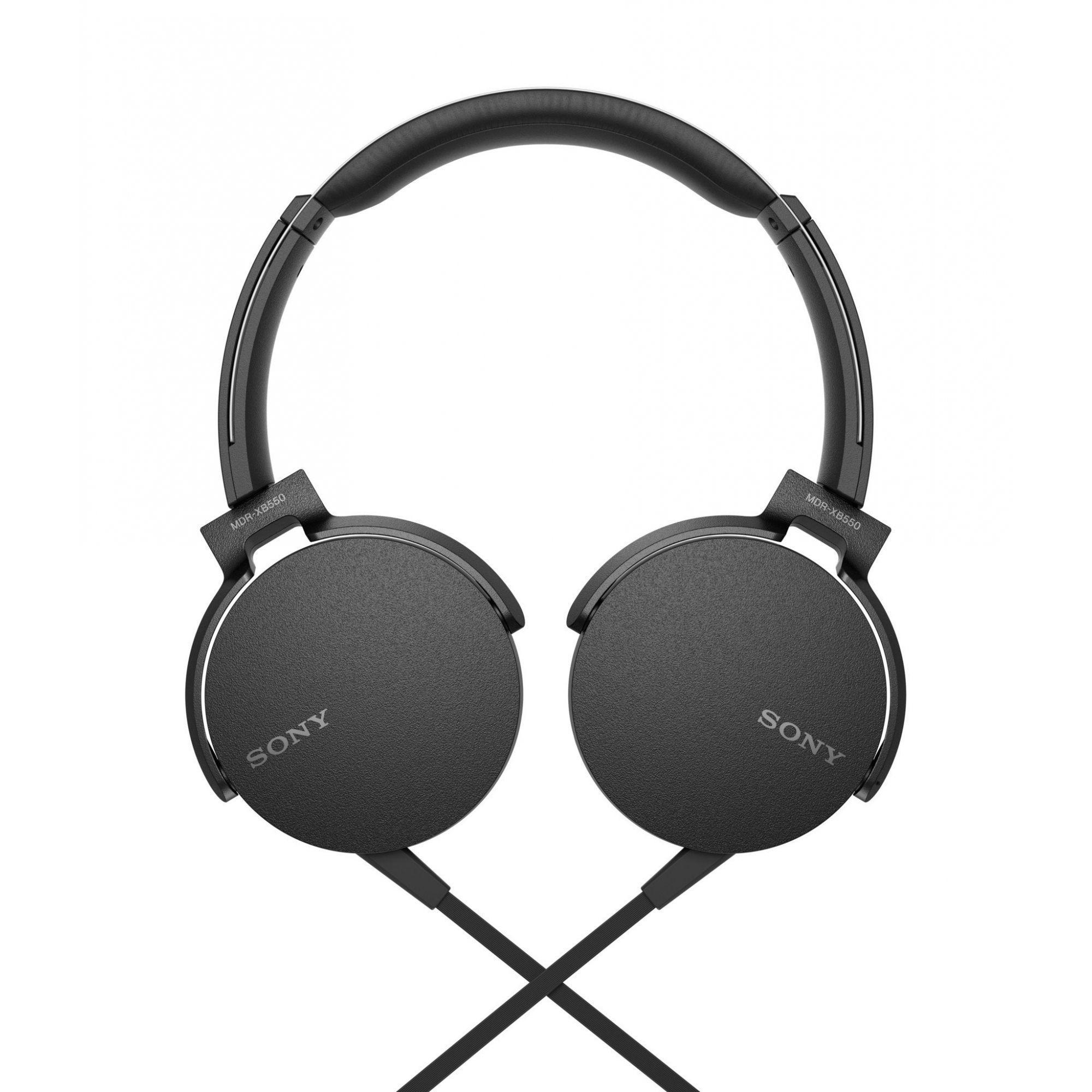Fone de Ouvido Sony - MDR-XB550AP - PRETO  - Pensou Filtros