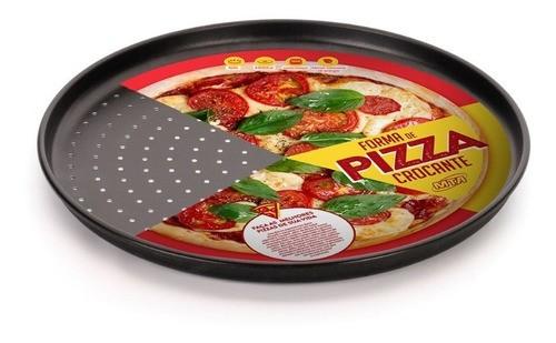 Forma Pizza n35 + Cortador E Espátula Para Pizza Caseira Oferta  - Pensou Filtros