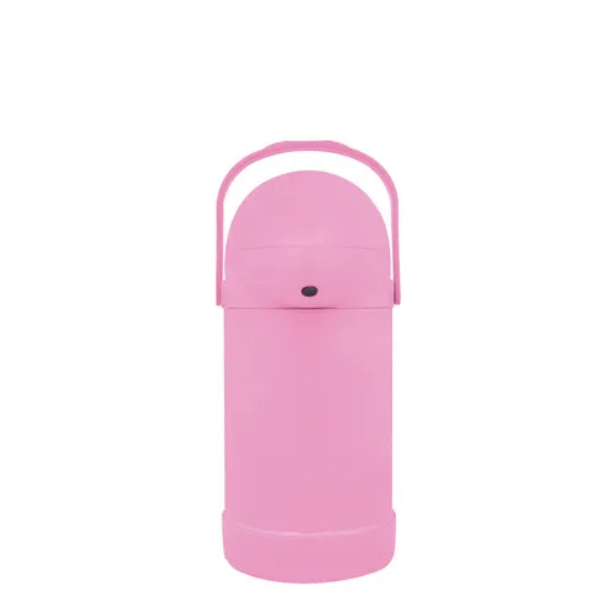Garrafa de Pressão Nobile 500ml - Cor Algodão Doce (Rosa)   - Pensou Filtros
