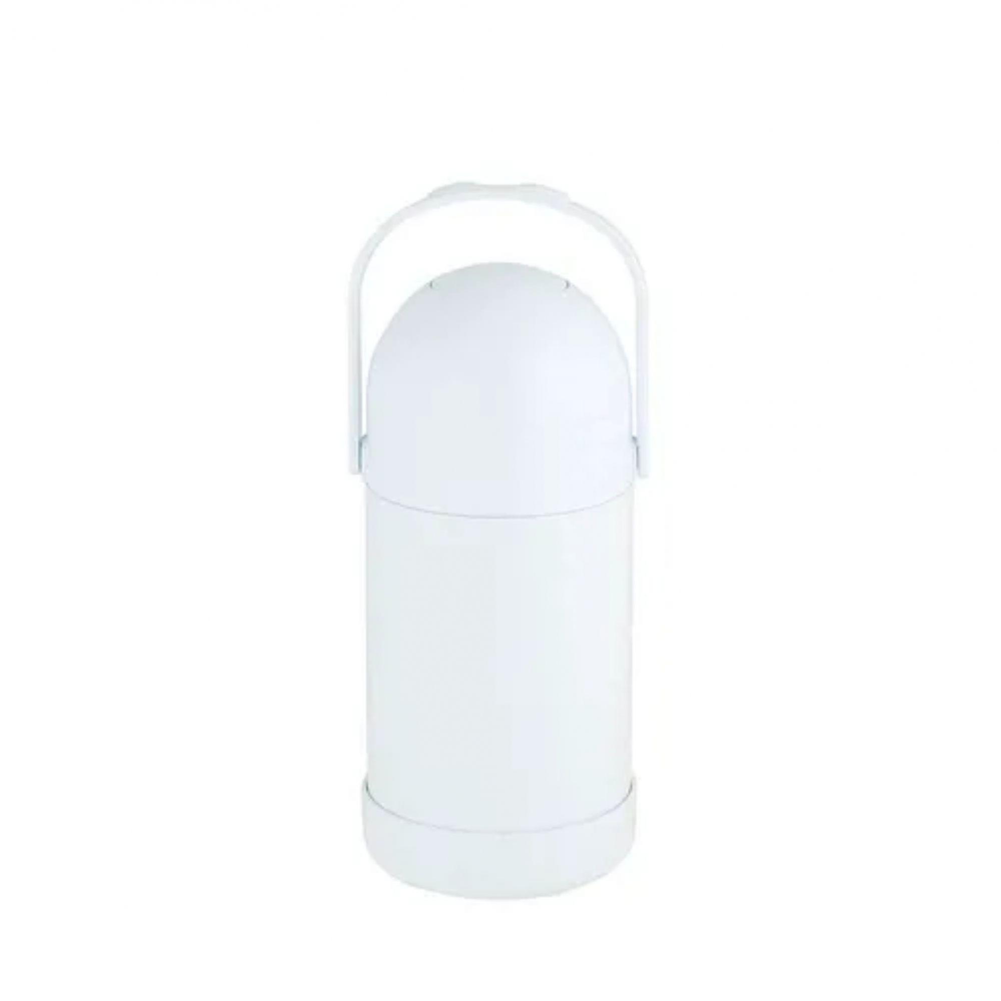 Garrafa de Pressão Nobile 500ml - Cor Branca  - Pensou Filtros