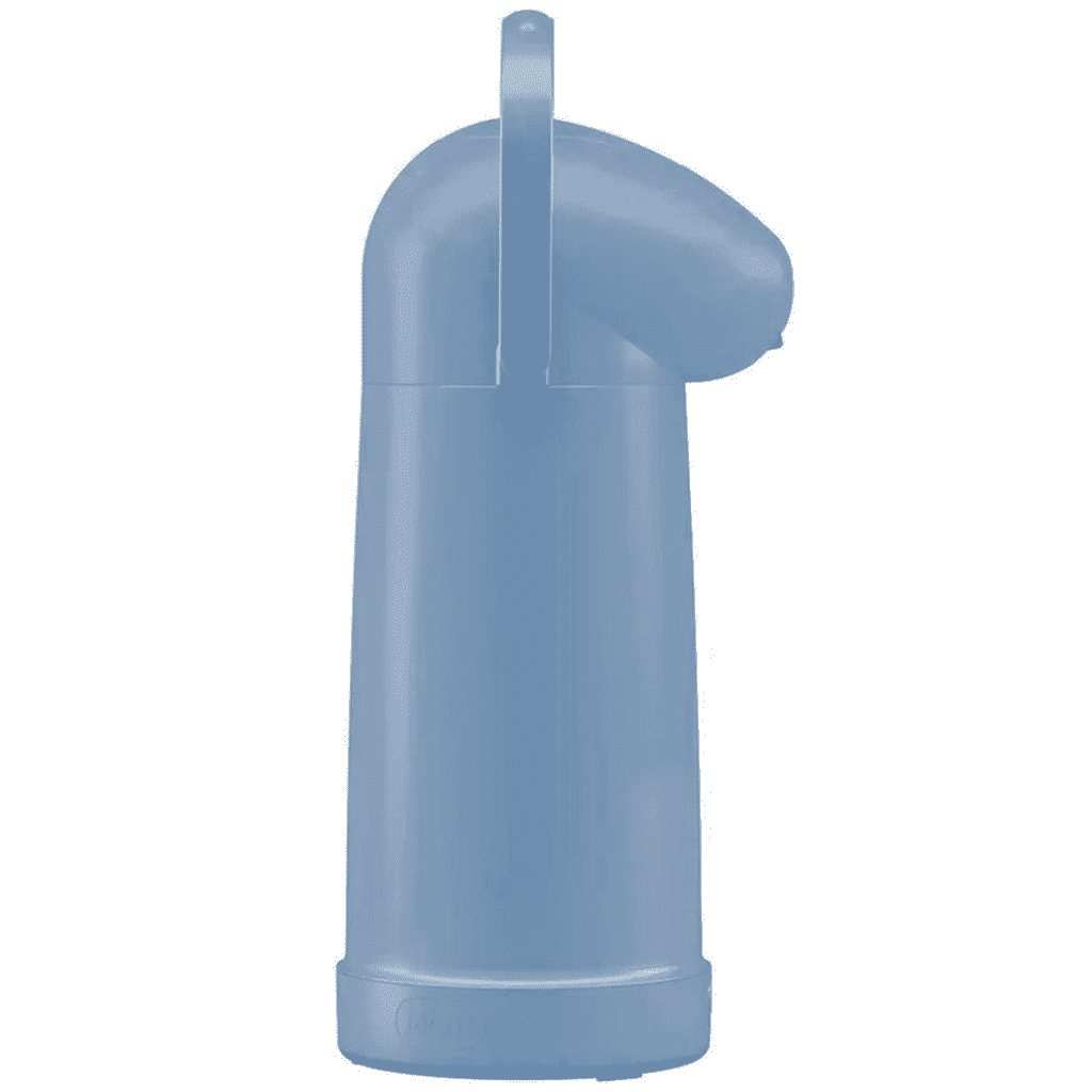 Garrafa Térmica de Pressão (1L) - Azul  - Pensou Filtros