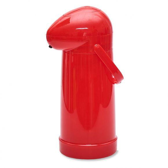 Garrafa Térmica de Pressão (1L) - Vermelho  - Pensou Filtros