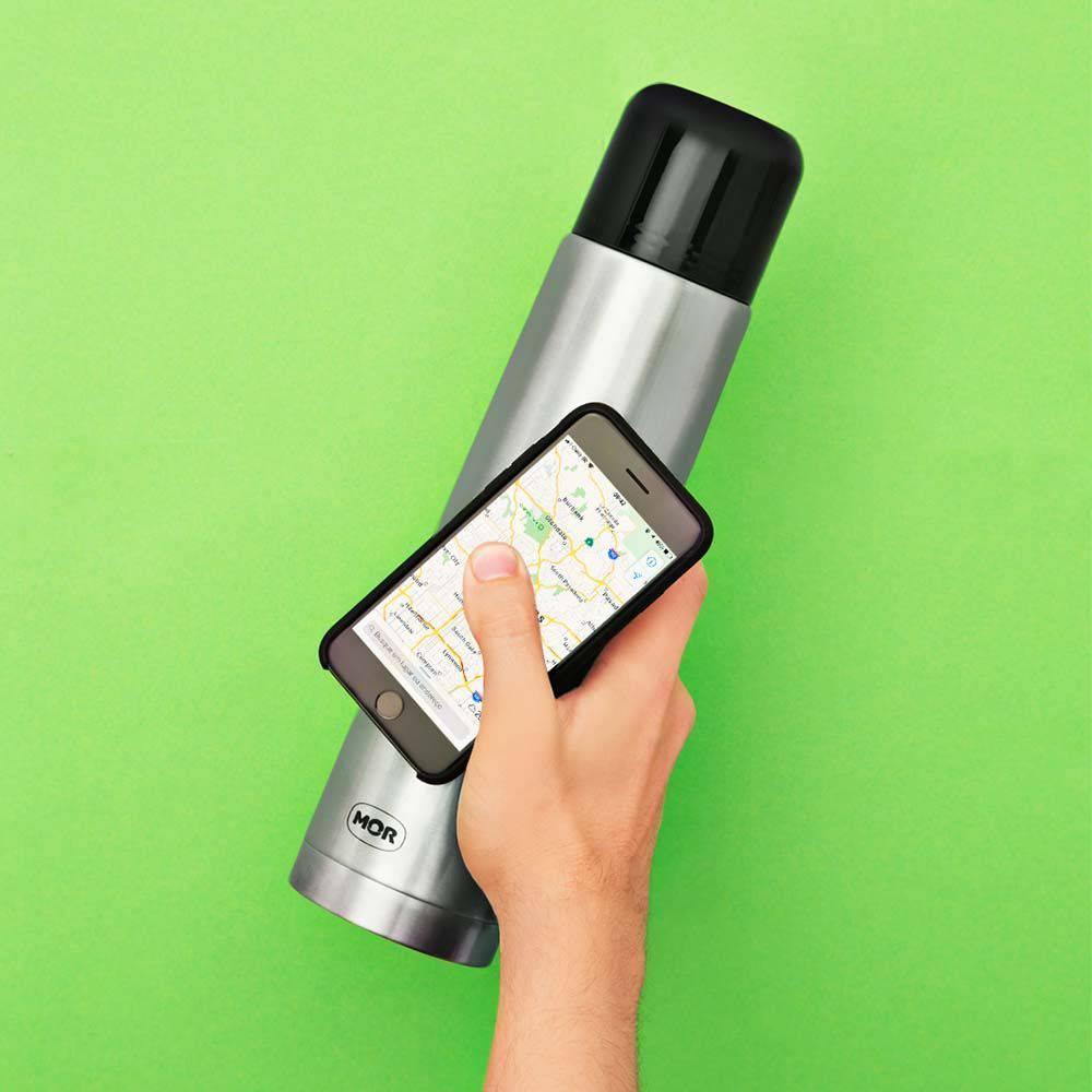 Garrafa Térmica Total Inox Fit 1 Litro  - Pensou Filtros