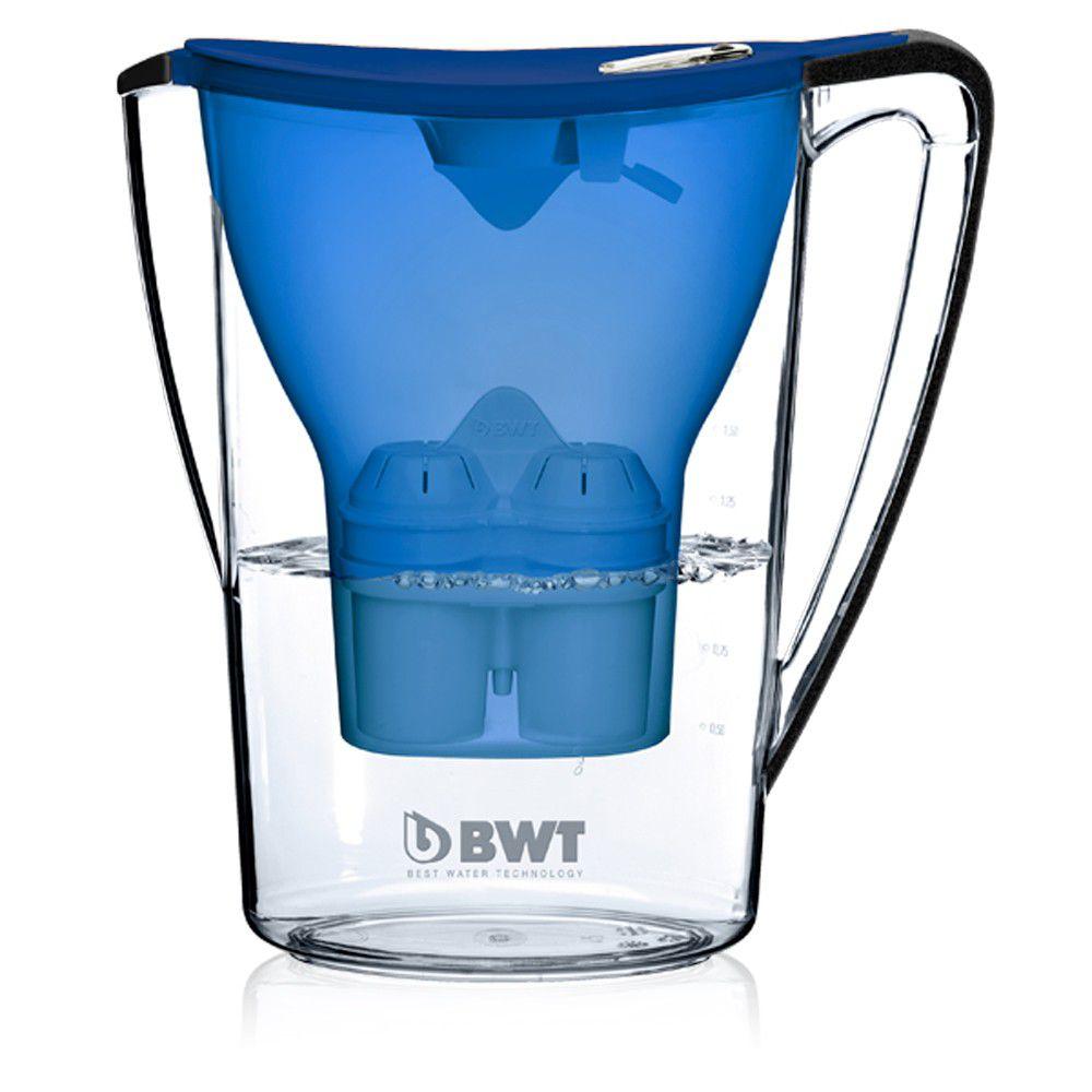 Jarra com Filtro BWT  Azul - adição de magnésio  - Pensou Filtros