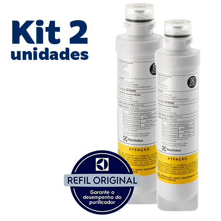 Kit 2 Unidades de Refil Electrolux PE11X   PE11B - ORIGINAL  - Pensou Filtros