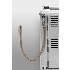 Kit Instalação Gás GLP de Botijão para Fogão/Cooktop e Forno de embutir c/ regulador  - Pensou Filtros
