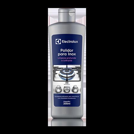 Kit Limpeza Electrolux - Polidor para Inox + Limpa Máquina de Lavar  - Pensou Filtros