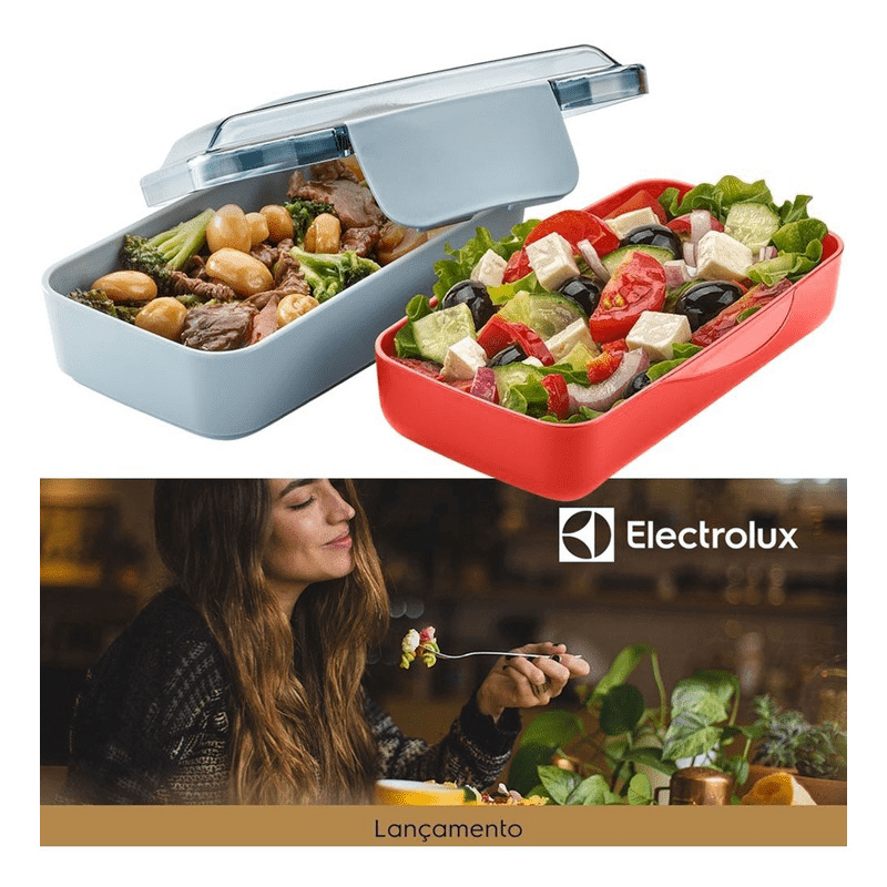 Lunch Box Electrolux - Vermelho  - Pensou Filtros