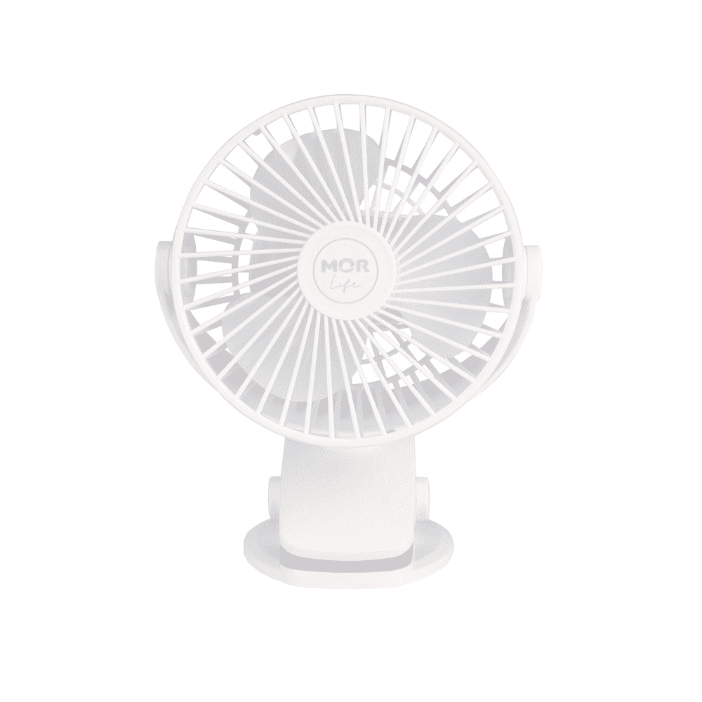 Mini Ventilador Portátil Compacto 360° C/ Carregador Usb  - Pensou Filtros