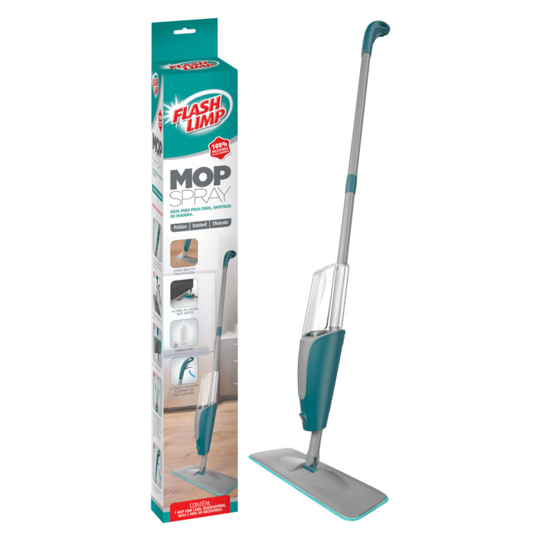 Mop Spray Flash Limp  - Pensou Filtros