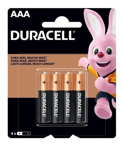 Pilhas Duracell Duralock Alcalina Aaa Embalagem C/4 Unids  - Pensou Filtros