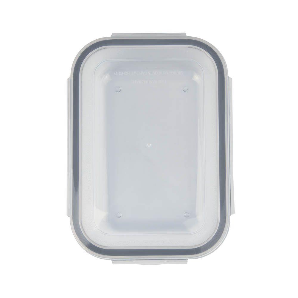 Pote Refratário Retangular com Tampa 1,7 Litros Mor Glass  - Pensou Filtros