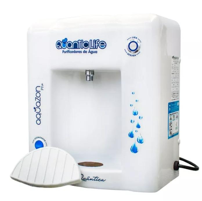 Purificador de Água Aquazon pH+, Ionizador, Ozonizador 127v  - Pensou Filtros