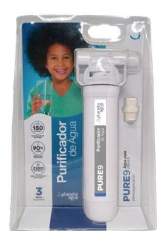 Purificador de Água (CA) - Pure 9 - Planeta Água  - Pensou Filtros