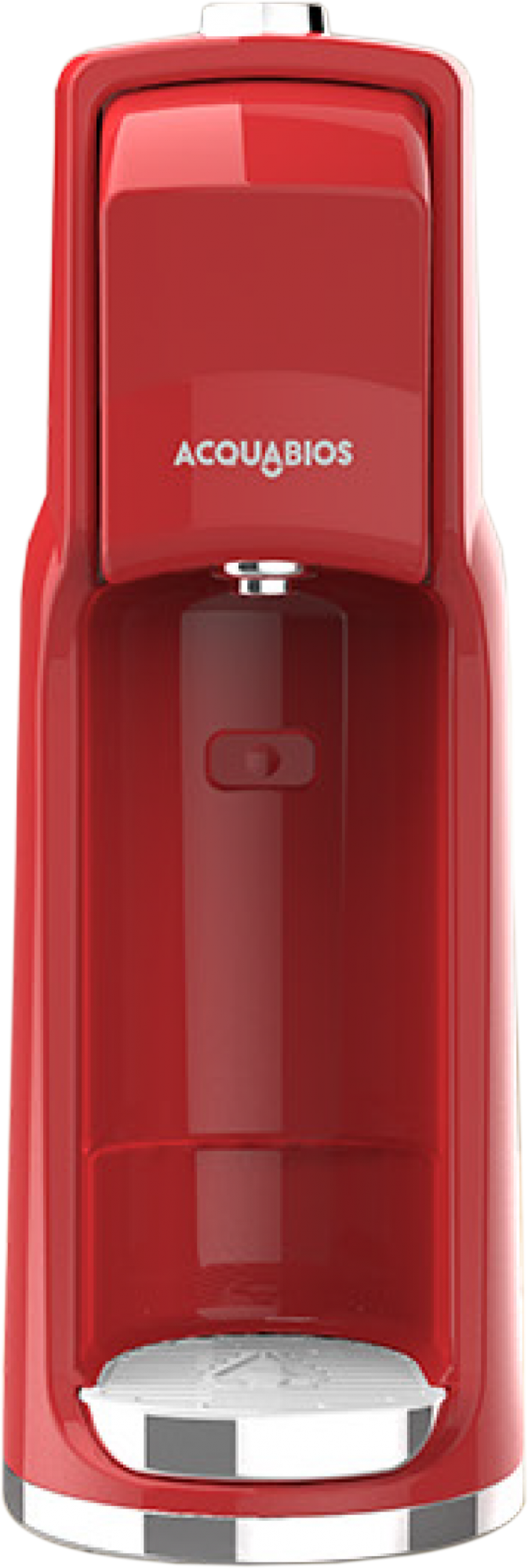 Purificador de Água Easy  Vermelho - Acquabios  - Pensou Filtros