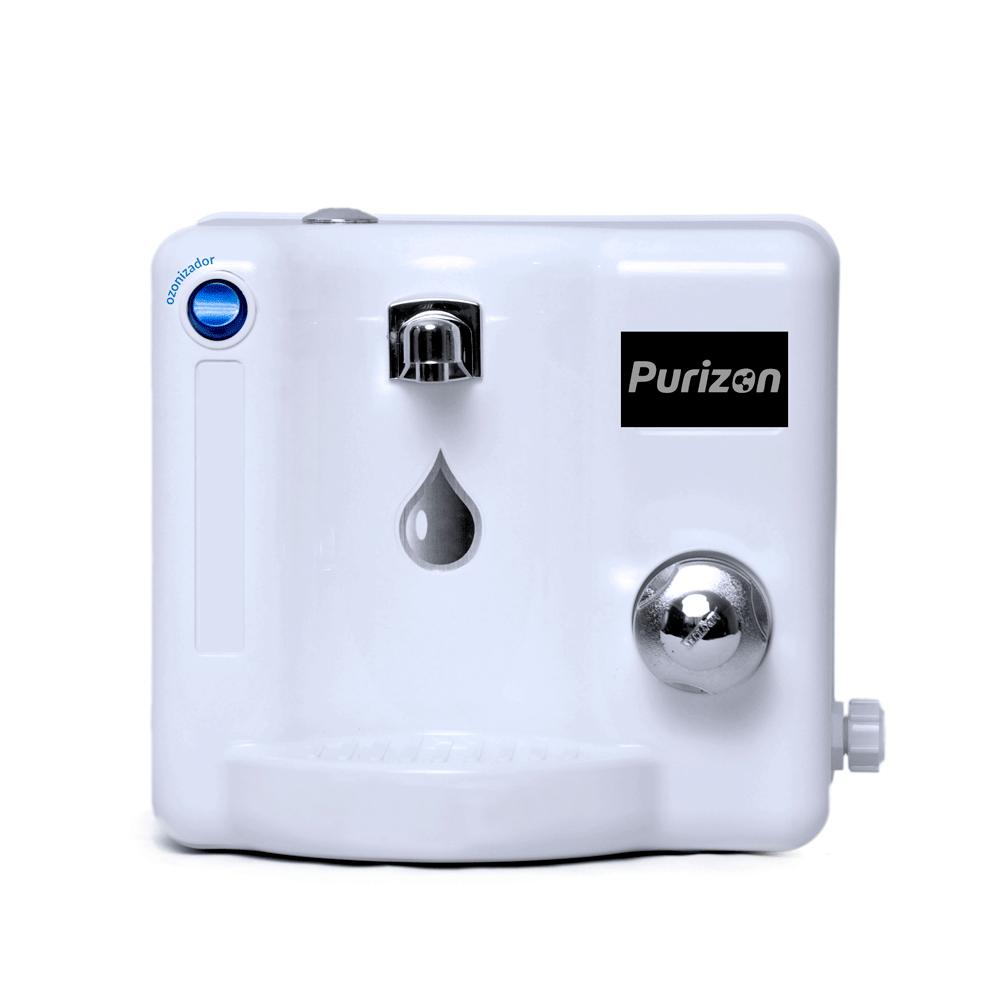 Purificador de Água Natural Purizon Bello Ozônio, Alcalino e Bacteriológico - Branco 220v  - Pensou Filtros