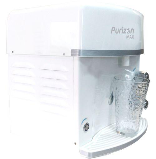 Purificador de Água Gelada Purizon Max Ozônio, Alcalino e Bacteriológico - Branco 220v  - Pensou Filtros