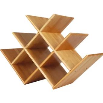 Rack para Vinho Bamboo  - Pensou Filtros