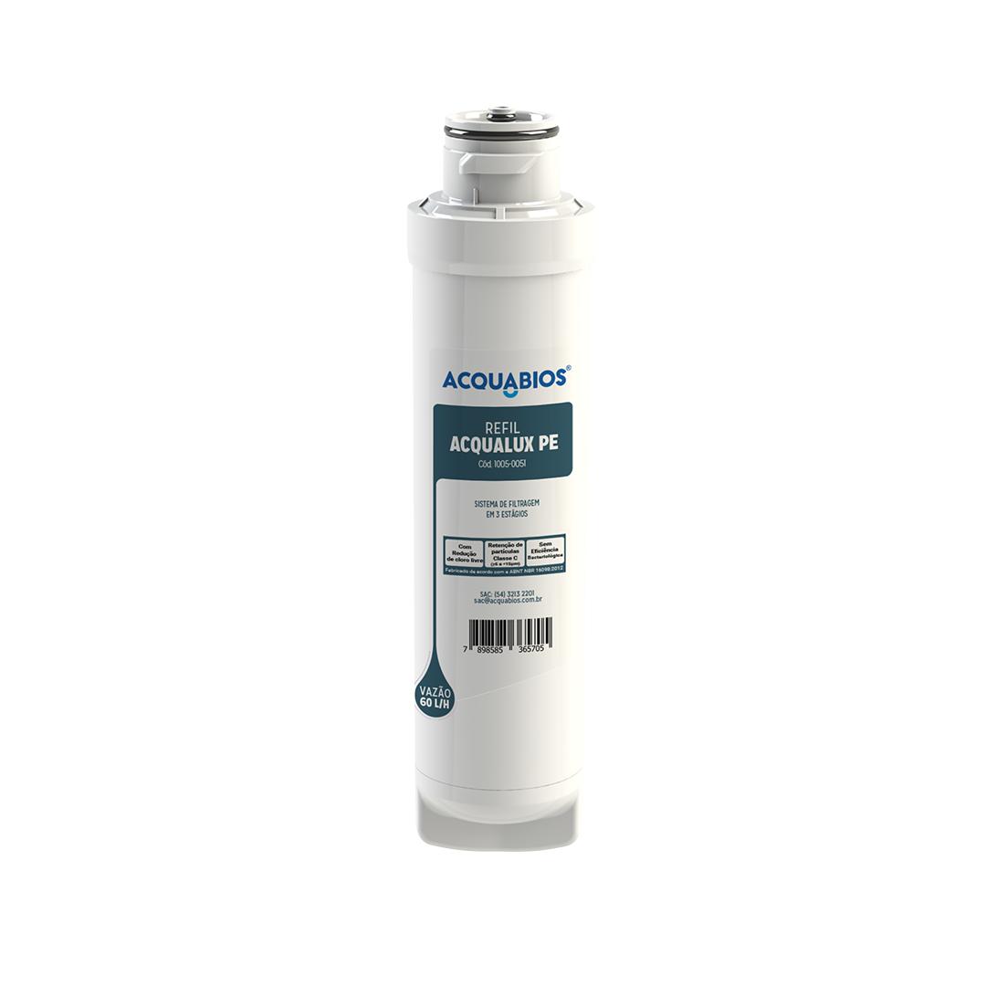 Refil Acqualux PE - Similar com PE10B e PE10X Electrolux  - Pensou Filtros