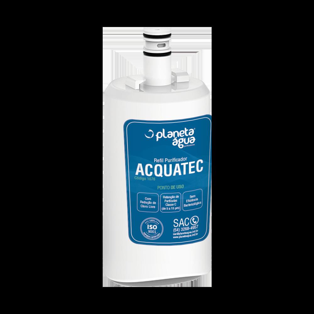 Refil Acquatec para Purificador de Água Esmaltec Purágua ACQUA7 (similar)  - Pensou Filtros