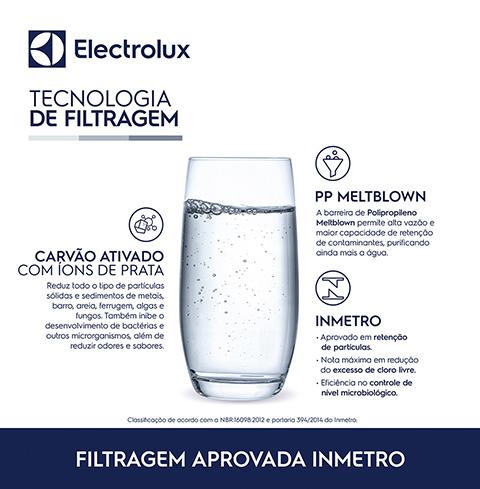 Refil/Filtro de Água para Purificador PE11B/PE11X/PC41B/PC41X/PH41B/PH41X  - Pensou Filtros