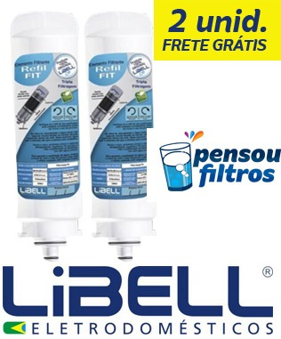 Refil Libell Fit Kit 2 Unid.  - Pensou Filtros
