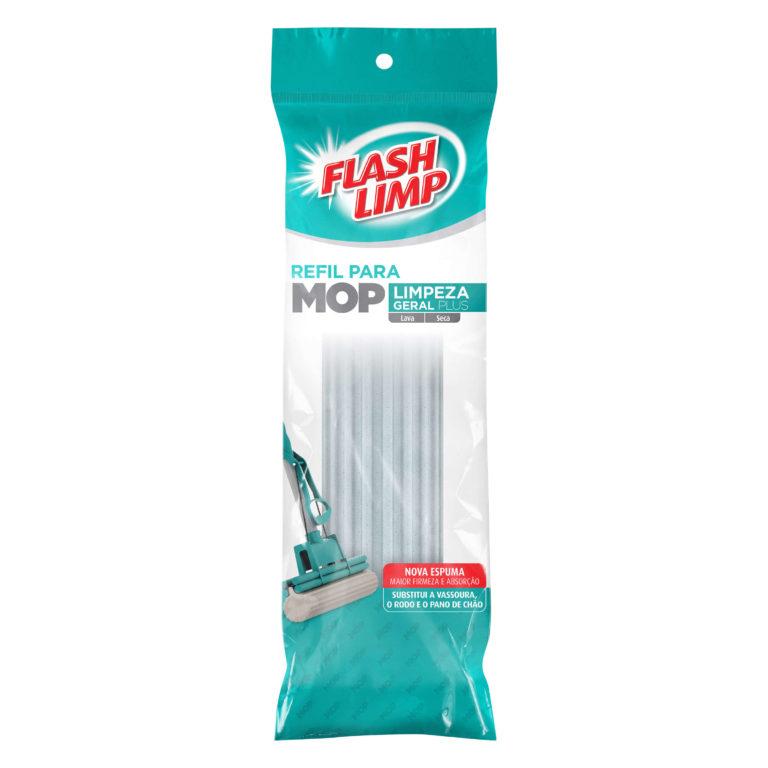 Refil para Mop de limpeza geral Plus- Flash Limp  - Pensou Filtros