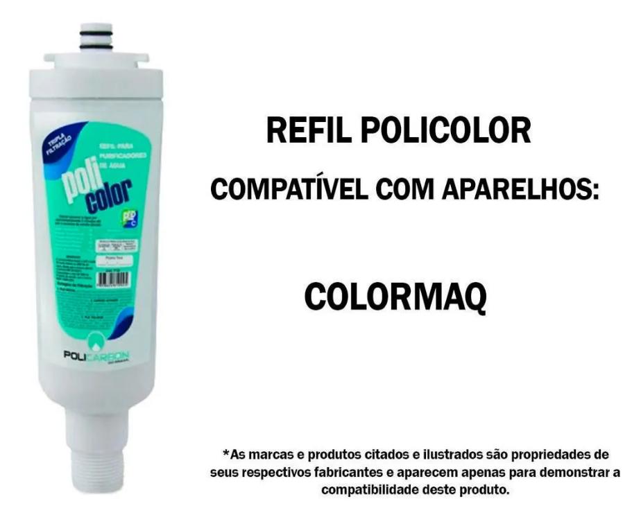 Refil Policolor Similar Colormaq  - Pensou Filtros