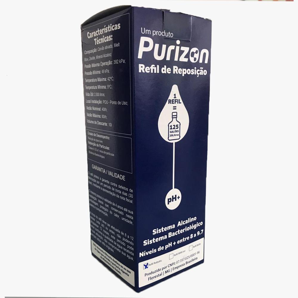 Refil Purizon Robotic  - Pensou Filtros