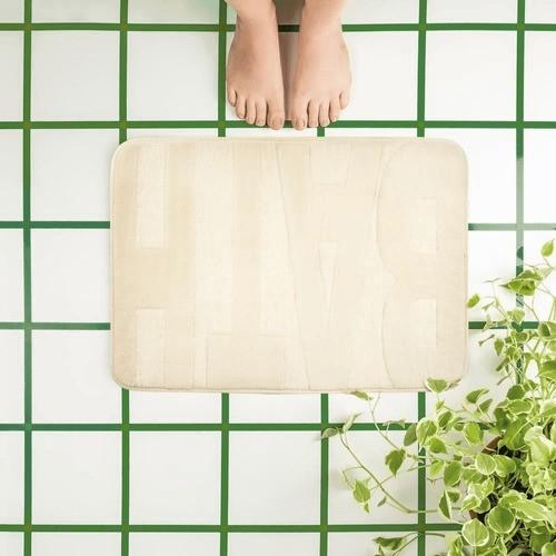 Tapete De Banheiro Viscosoft Bath Memory Foam Mor  - Pensou Filtros