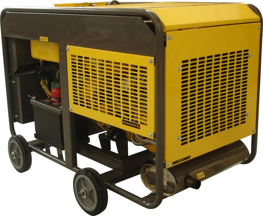 Gerador de energia a Diesel Monofásico, 19 KVA Partida Elétrica - NDE19EA - Nagano