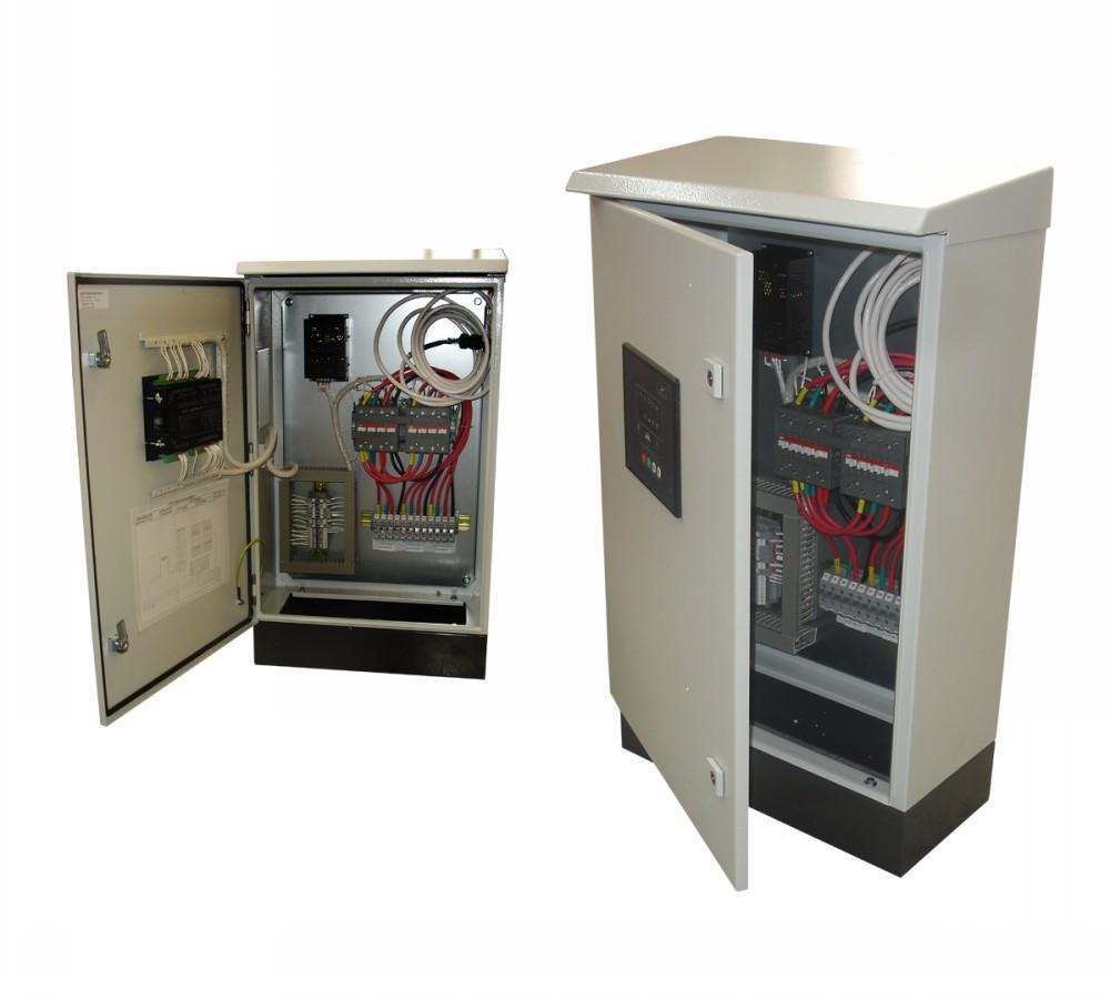 Gerador de energia a Diesel Monofásico - 19KVA, Partida Elétrica, Silenciado com QTA - NDE19STAQTA - Nagano