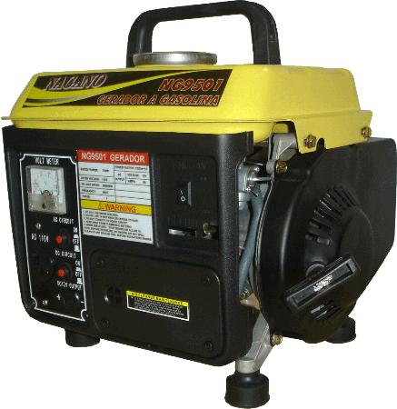 Gerador de energia a Gasolina Monofásico 0,95 KVA Partida Manual - NG9501 - Nagano